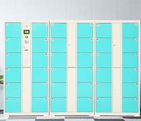 商超公共场合智能存包柜-超市智能储物柜密码柜电子存包柜